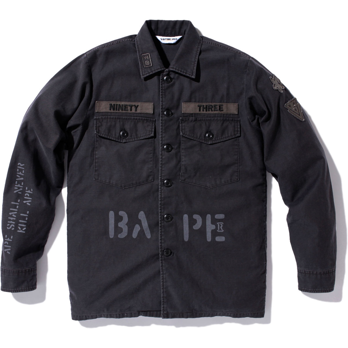 30cf32b4 A Bathing Ape Patchwork & Scout Shirts | ECSTATIC FRESHNESS